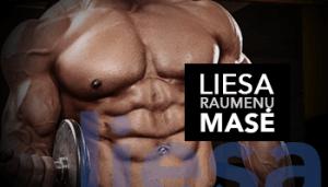 liesai raumenų masei
